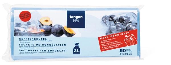 Tangan N°4 Gefrierbeutel 3L