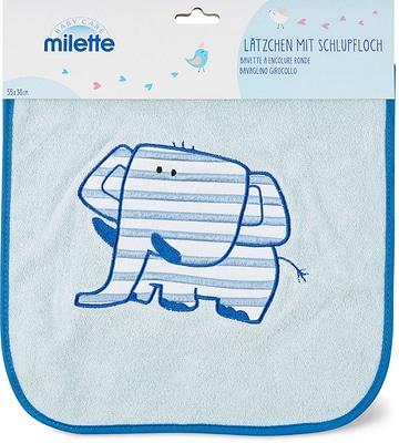 Milette Lätzchen mit Schlupfloch, 55 x 30 cm