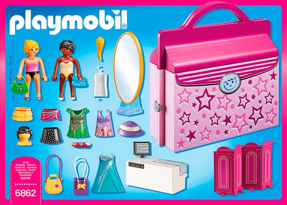 PLAYMOBIL Magasin transportable 6862
