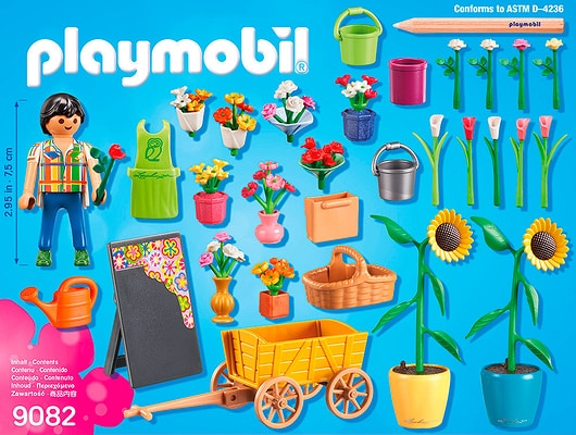 Playmobil City Life Fleuriste 9082