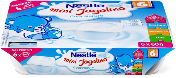 Nestle Jogolino Nature 6x60g