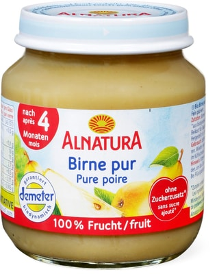 Alnatura Pure poir. 100% de fruits