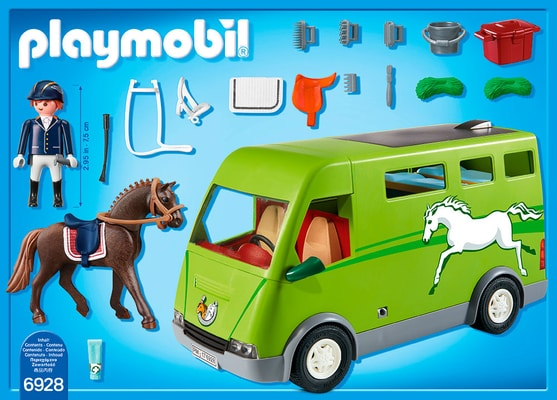 Playmobil Country Cavalier avec van et cheval 6928