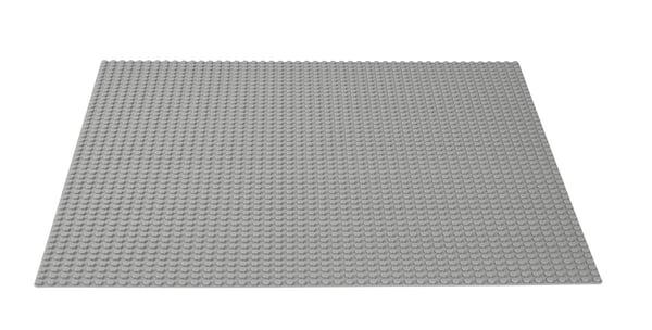 LEGO Classic La plaque de base grise 10701