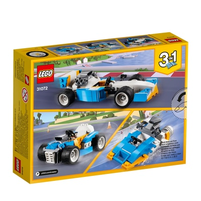 Lego Creator 31072 Bolidi Estremi