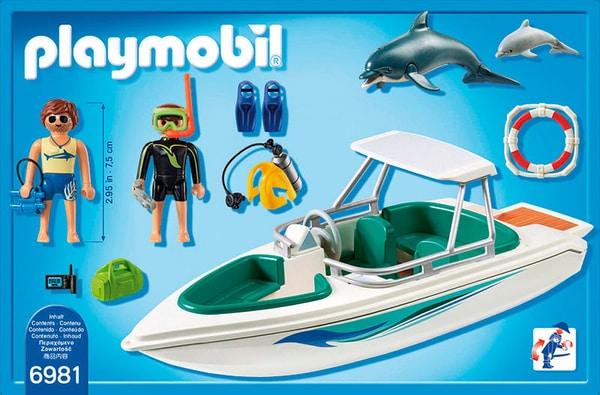 Playmobil Bateau de plongée  6981