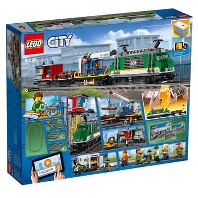 lego city le train de marchand 60198 migros. Black Bedroom Furniture Sets. Home Design Ideas