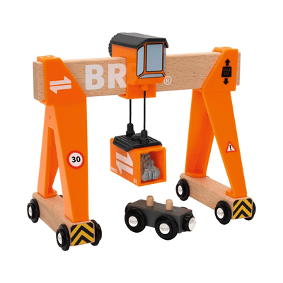 Brio Verladekran Bahn