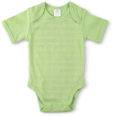 BABY BODY KURZARM 2ER PACK gruen