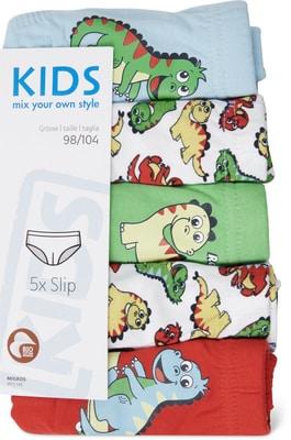 Kids BIo Slip bambino confezione da 5