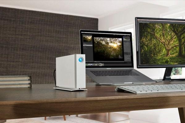 Lacie Unità da scrivania d2 8TB Thunderbolt 3 Hard disk Esterno HDD