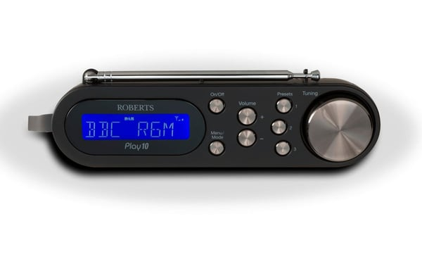 Roberts Play 10 - Noir Radio DAB+
