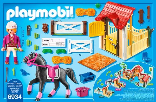 Playmobil Country Box avec cavalière et pur-sang Arabe 3934