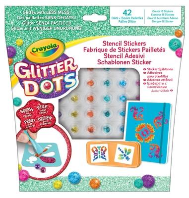 Crayola Glitter Dots Basteln