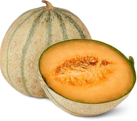 Tous les melons sucrins entiers