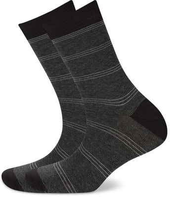 HERREN SOCKEN SMART 2ER PACK anthrazit