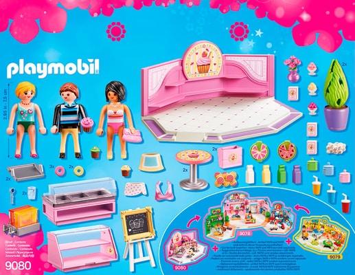 Playmobil City Life Café Cupcake 9080