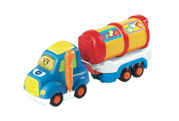 VTech Tut Tut Baby Flitzer Tankwagen & Anhänger (DE) Spielfahrzeug