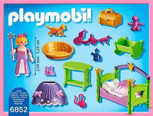 Playmobil Princess Cameretta della principessina 6852