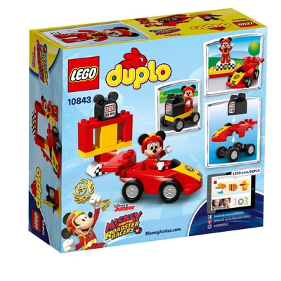 LEGO DUPLO La voiture de course de Mickey 10843