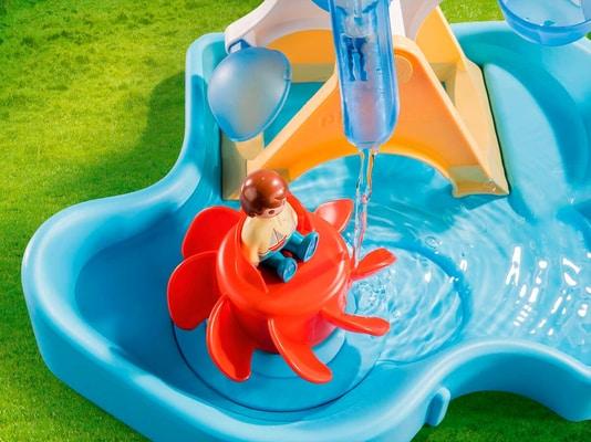 PLAYMOBIL® 70268 Wasserrad mit Karussell