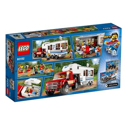 Lego City 60182 Pickup E Caravan