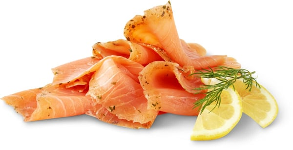 Bio Salmone affumicato limetta