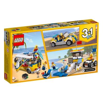 Lego Creator 31079 Surfer Van Giallo