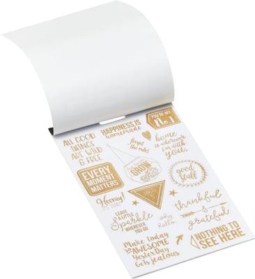 GOLD Libro adesivo lamina d'oro