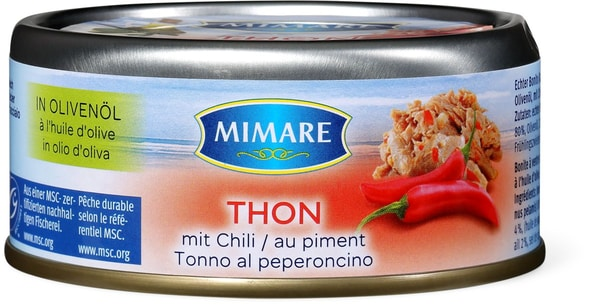 Mimare MSC Thon mit Chili