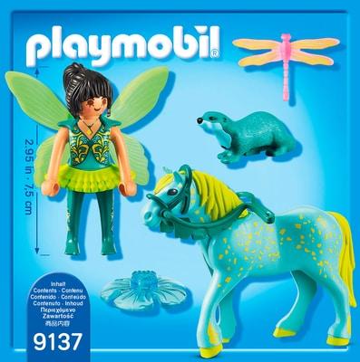 """Playmobil Fairies Wasserfee mit Pferd """"Aquarius"""" 9137"""