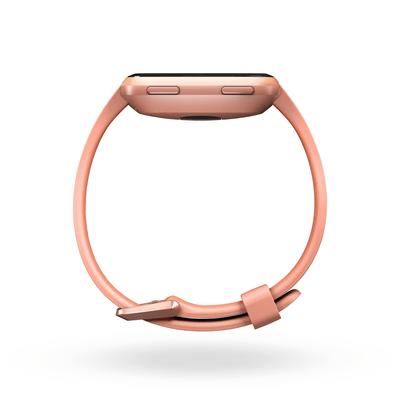 Fitbit Versa -  Peach / Rose Gold Aluminum Smartwatch