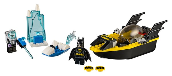 LEGO Juniors Batman contre Mr. Freeze 10737