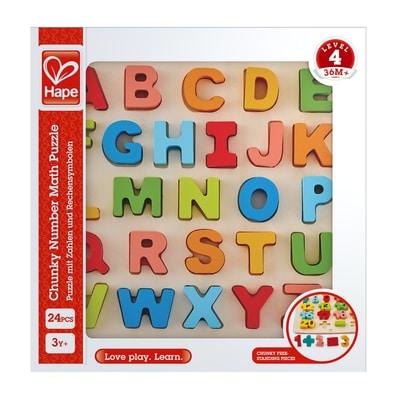 Hape Puzzle Dell'Alfabeto A Pezzi Grossi