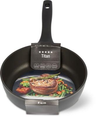 Cucina & Tavola TITAN Bratpfanne 24cm high