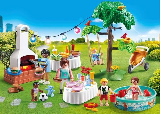 Playmobil Festa in giardino