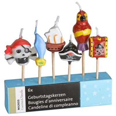 Cucina & Tavola CUCINA & TAVOLA Geburtstagskerzen Pirat
