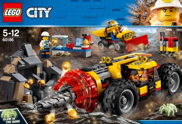 Lego City Trivella pesante da miniera 60186
