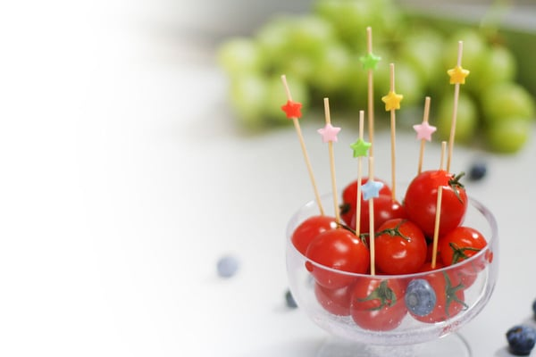 Cucina & Tavola Piques apéritif Étoiles, 50pièces