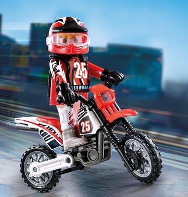 Playmobil Pilote de motocross