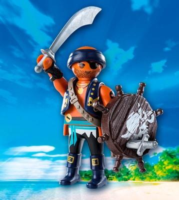 Playmobil Playmo-Friends Pirate avec bouclier 9075