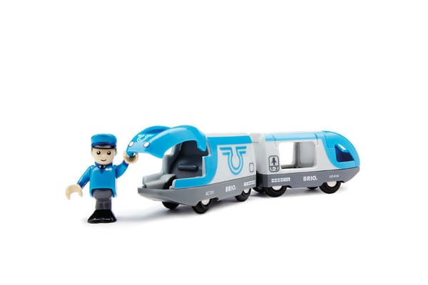 BRIO Train de voyageurs à pile (FSC)