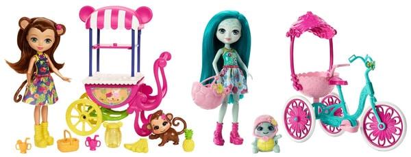 Mattel Enchantimals FJH11 Puppe und Zubehör Puppenset