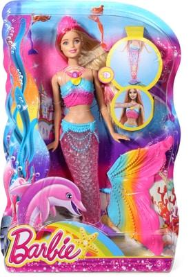 Barbie Sirène Arc en Ciel