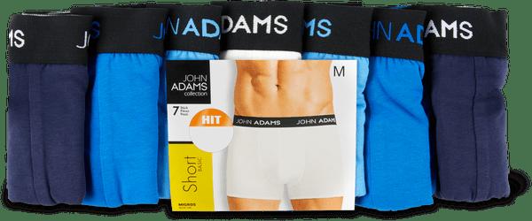 John Adams Herren-Slip oder -Short im 7er-Pack