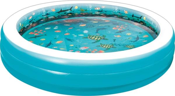 Summer Waves Piscine familiale 3D ronde