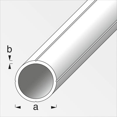 alfer Tube rond 1.5 x 15.5 mm brut 1 m