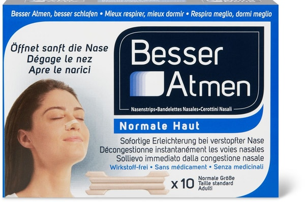 Respirer Activ bandelettes nasales