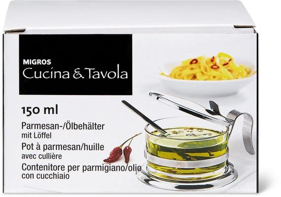 Cucina & Tavola Parmesan-/Ölbehälter 150ml