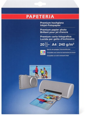 Papeteria Photo-Papier 230g/m2 A4 weiss